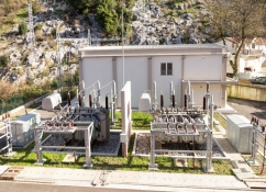 Construction of substation 110/35/10 kV Kotor and 110 kV overhead line Tivat - Kotor